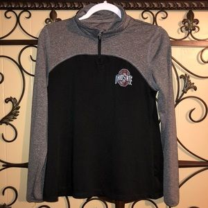 Ohio State Sz Med (Jr.'s) 1/4 Zip Pullover